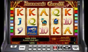 Pharaohs Gold III в казино онлайн
