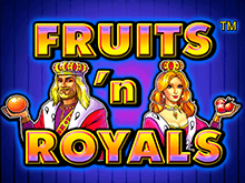 Игровой онлайн аппарат Fruits and Royals