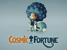 В казино автомат с выбором ставки Cosmic Fortune