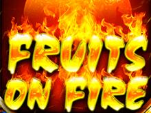 В официальном казино автомат Fruits On Fire