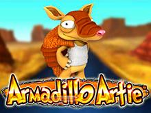 Armadillo Artie крупные деньги и интересные бонусы в игровом аппарате