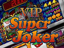 Красочный игровой аппарат Super Joker с невероятным джекпотом.